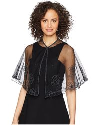 Betsey Johnson - Beaded Floral Capelet - Lyst