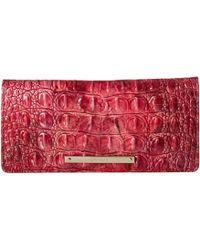 Brahmin - Melbourne Ady Wallet (chicory) Wallet Handbags - Lyst