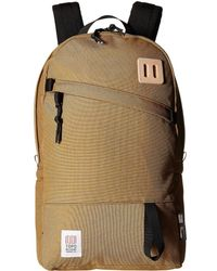Topo Designs - Daypack (red/khaki Leather) Backpack Bags - Lyst