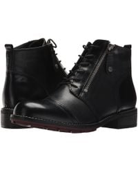 Wolky - Millstream (black Molde/adder) Women's Lace-up Boots - Lyst