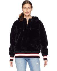 UGG - Kailani Sherpa Hoodie (black) Women's Sweatshirt - Lyst