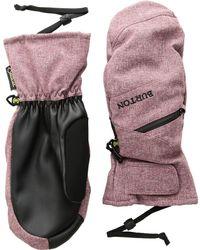 Burton - Gore Under Mitt (bog Heather) Over-mits Gloves - Lyst