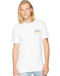Quiksilver - Live On The Edge Tee (white) Men's T Shirt - Lyst
