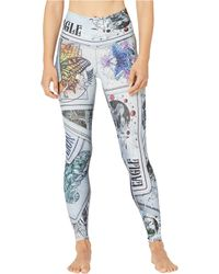 NIYAMA SOL Tarot Leggings - Blue