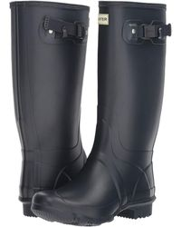 HUNTER Huntress Field Boot - Blue