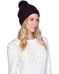 UGG - Yarn Pom Knit Hat (beige Multi) Caps - Lyst