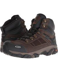 Hi-Tec - X-t Carbon Elite Mid Wp360 Composite Toe (chocolate/brown) Men's Work Boots - Lyst
