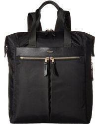Knomo - Mayfair Chiltern Expandable Backpack/tote (black) Backpack Bags - Lyst