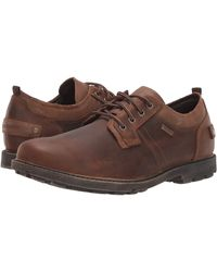 Rockport Waterproof Rugged Bucks Ii Plain Toe Ox - Brown