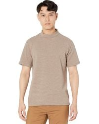 Native Youth Adrian High Neck Short Sleeve T-shirt Clothing - Multicolor