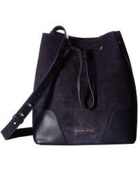 MICHAEL Michael Kors - Cary Medium Bucket Bag (maroon/oxblood) Bags - Lyst