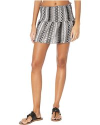 Becca - Rio Bueno Short Skirt Cover-up - Lyst