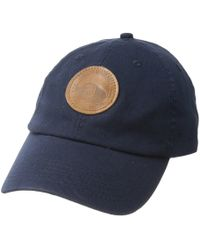 fc37df75e39 Pendleton - Cotton Hat With Mill Patch (navy) Caps - Lyst