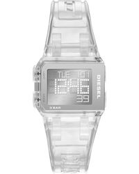 DIESEL Chopped Digital Watch - Metallic
