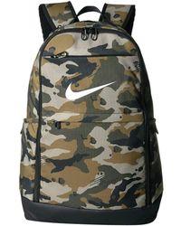 b5b89ccb81 Nike - Brasilia Xl Training Backpack (dark Grey black white) Backpack Bags