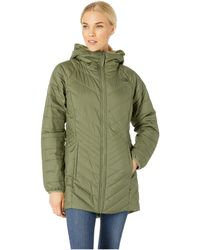 The North Face Mossbud Insulated Reversible Parka - Green