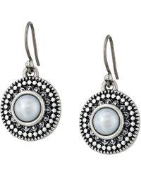 Lucky Brand   Pearl Small Drop Earrings   Lyst