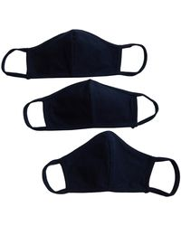 Shashi Navy Blues Face Mask Set