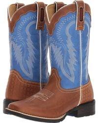 "Durango Mustang 10"" Western - Blue"