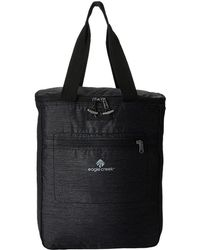 Eagle Creek - Travel Essentials Packable Tote/pack (black) Convertible Handbags - Lyst