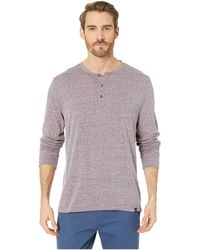 Threads For Thought Tri-blend Long Sleeved Henley - Multicolor