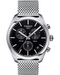 Tissot - Pr 100 Chronograph - T1014171105101 (silver/grey) Watches - Lyst