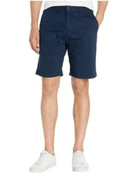 Tommy Hilfiger Core Classic-fit Flat Front Shorts - Blue