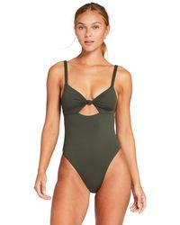Vitamin A Zuri One-piece Swimsuits One Piece - Green