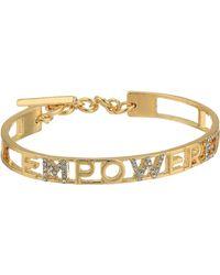 BCBGeneration Empower Gift Bracelet - Metallic
