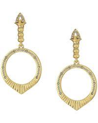 House of Harlow 1960 - Luna Stone Earrings (gold) Earring - Lyst