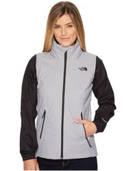 The North Face - Resolve Plus Jacket (vanadis Grey/atomic Pink) Women's Coat - Lyst