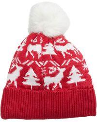 Vera Bradley Cozy Hat - Red