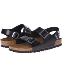 Birkenstock - Milano - Leather Soft Footbed (unisex) - Lyst