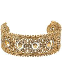 Marchesa - Large Cuff Bracelet - Lyst