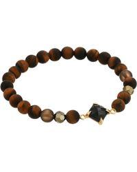 Chan Luu - Semi-precious Stone Stretch Bracelet (burgundy Mix) Bracelet - Lyst