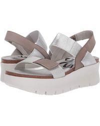 Otbt Nova Sandals - Metallic