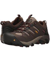 Keen Utility - Lansing Low (cascade Brown/bosa Nova) Men's Work Boots - Lyst