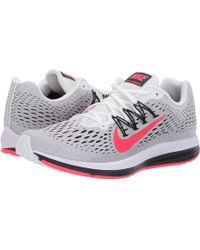 timeless design fd7d5 13027 Nike - Air Zoom Winflo 5 (blackened Blue flash Crimson) Men s Running Shoes
