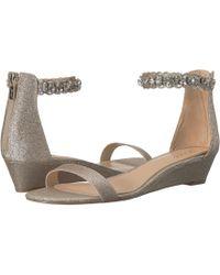 Badgley Mischka - Ginger (light Gold) Women's Shoes - Lyst