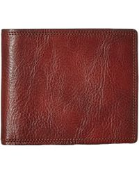 Bosca Dolce Collection - Credit Wallet W/ I.d. Passcase - Brown