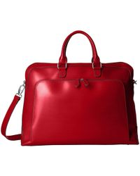 Lodis Audrey Brera Briefcase With Laptop Pocket - Red
