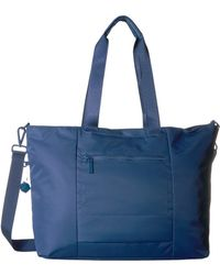 Hedgren Swing Large Tote With Rfid - Blue
