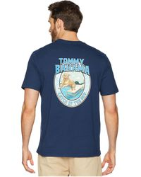 Tommy Bahama - Catch Of The Day T-shirt (navy) Men's T Shirt - Lyst