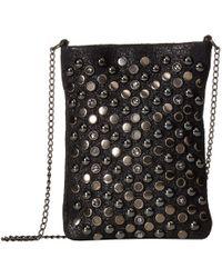 Leatherock - Eden Cell Pouch/crossbody (black) Cross Body Handbags - Lyst