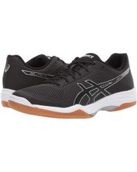 Asics - Gel-tactic 2 (black/silver) Men's Volleyball Shoes - Lyst
