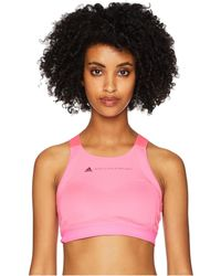adidas By Stella McCartney - Performance Essentials Bra Cy7176 (solar Pink) Women's Bra - Lyst