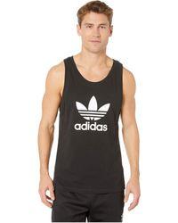 adidas Originals Trefoil Tank Top Sleeveless - Black