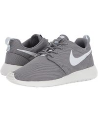 size 40 98bc9 2e77d Nike - Roshe One (white white black) Women s Shoes - Lyst