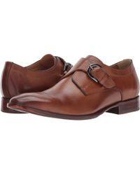 Johnston & Murphy Mcclain Monk Strap Shoe - Brown
