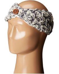 San Diego Hat Company Knh3442 Chunky Marled Knit Headband - Blue